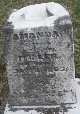 MILLER, AMANDA - Montgomery County, Ohio   AMANDA MILLER - Ohio Gravestone Photos