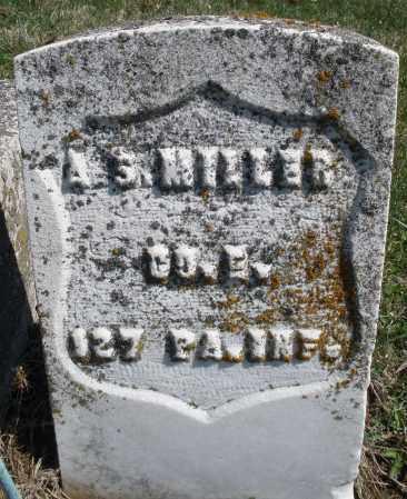 MILLER, A. S. - Montgomery County, Ohio | A. S. MILLER - Ohio Gravestone Photos