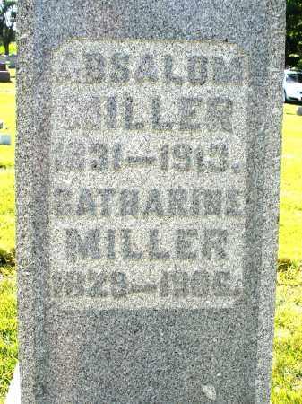 MILLER, ABSALOM - Montgomery County, Ohio | ABSALOM MILLER - Ohio Gravestone Photos