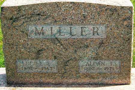MILLER, LUCILE - Montgomery County, Ohio | LUCILE MILLER - Ohio Gravestone Photos