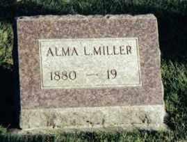 MILLER, ALMA L. - Montgomery County, Ohio | ALMA L. MILLER - Ohio Gravestone Photos