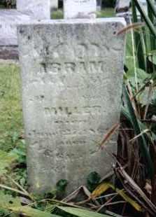 MILLER, ABRAM - Montgomery County, Ohio   ABRAM MILLER - Ohio Gravestone Photos