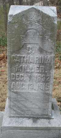 MILLER, CATHARINA - Montgomery County, Ohio   CATHARINA MILLER - Ohio Gravestone Photos
