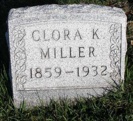 MILLER, CLORA K. - Montgomery County, Ohio   CLORA K. MILLER - Ohio Gravestone Photos
