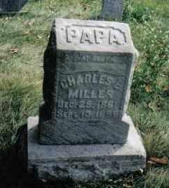 MILLER, CHARLES E. - Montgomery County, Ohio   CHARLES E. MILLER - Ohio Gravestone Photos