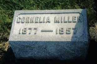 MILLER, CORNELIA - Montgomery County, Ohio | CORNELIA MILLER - Ohio Gravestone Photos