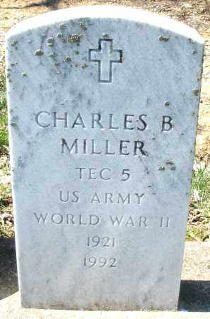 MILLER, CHARLES  B. - Montgomery County, Ohio | CHARLES  B. MILLER - Ohio Gravestone Photos