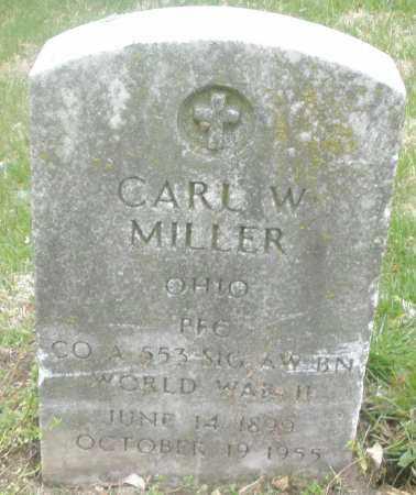 MILLER, CARL W. - Montgomery County, Ohio | CARL W. MILLER - Ohio Gravestone Photos