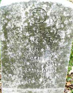 MILLER, CLETUS - Montgomery County, Ohio   CLETUS MILLER - Ohio Gravestone Photos