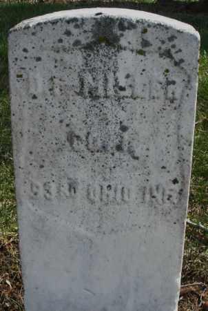 MILLER, D. F. - Montgomery County, Ohio   D. F. MILLER - Ohio Gravestone Photos