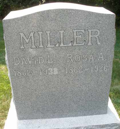 MILLER, DAVID L. - Montgomery County, Ohio   DAVID L. MILLER - Ohio Gravestone Photos