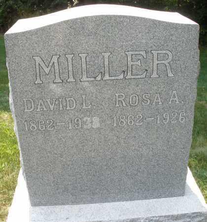 MILLER, ROSA A. - Montgomery County, Ohio | ROSA A. MILLER - Ohio Gravestone Photos