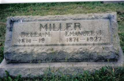 MILLER, DELLA M. - Montgomery County, Ohio | DELLA M. MILLER - Ohio Gravestone Photos