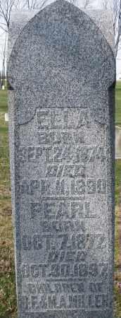 MILLER, ELLA - Montgomery County, Ohio | ELLA MILLER - Ohio Gravestone Photos