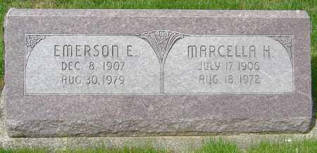 MILLER, EMERSON E - Montgomery County, Ohio | EMERSON E MILLER - Ohio Gravestone Photos