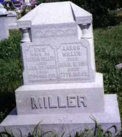 MILLER, EVE - Montgomery County, Ohio | EVE MILLER - Ohio Gravestone Photos