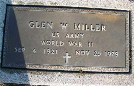MILLER, GLEN W. - Montgomery County, Ohio | GLEN W. MILLER - Ohio Gravestone Photos