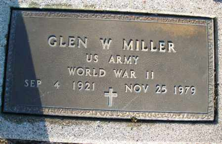 MILLER, GLEN W. - Montgomery County, Ohio | GLEN W. MILLER - Ohio Gravestone Photos