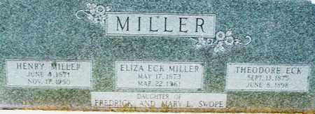 MILLER, HENRY - Montgomery County, Ohio | HENRY MILLER - Ohio Gravestone Photos