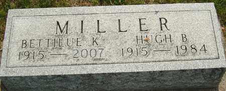 MILLER, HUGH B - Montgomery County, Ohio | HUGH B MILLER - Ohio Gravestone Photos