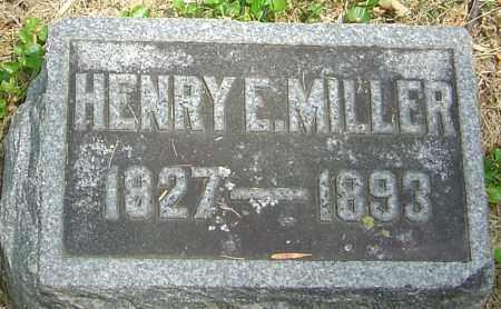 MILLER, HENRY E - Montgomery County, Ohio | HENRY E MILLER - Ohio Gravestone Photos