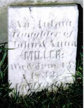 MILLER, INFANT - Montgomery County, Ohio | INFANT MILLER - Ohio Gravestone Photos