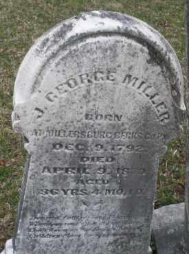 MILLER, J.GEORGE - Montgomery County, Ohio | J.GEORGE MILLER - Ohio Gravestone Photos