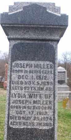 MILLER, LYDIA - Montgomery County, Ohio   LYDIA MILLER - Ohio Gravestone Photos