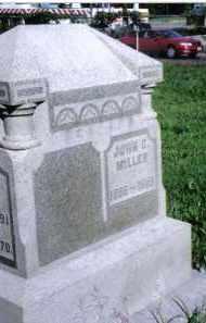 MILLER, JOHN C. - Montgomery County, Ohio | JOHN C. MILLER - Ohio Gravestone Photos
