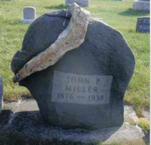 MILLER, JOHN P. - Montgomery County, Ohio   JOHN P. MILLER - Ohio Gravestone Photos