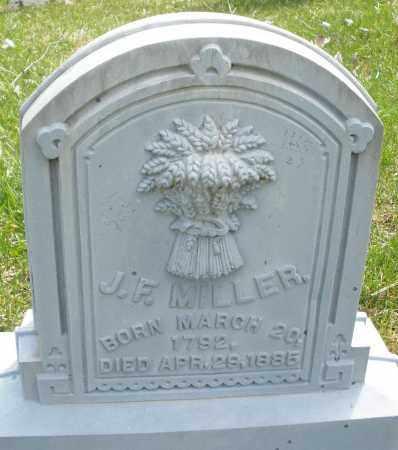 MILLER, J.F. - Montgomery County, Ohio   J.F. MILLER - Ohio Gravestone Photos