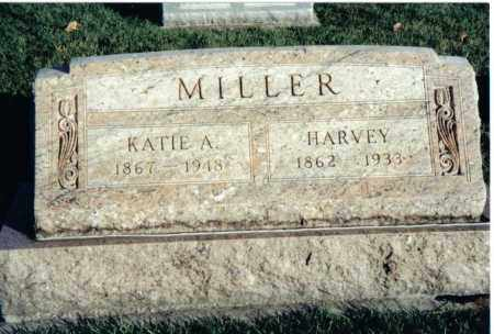 MILLER, HARVEY - Montgomery County, Ohio | HARVEY MILLER - Ohio Gravestone Photos