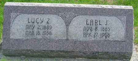 MILLER, LUCY Z - Montgomery County, Ohio | LUCY Z MILLER - Ohio Gravestone Photos