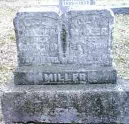 MILLER, WILLIAM - Montgomery County, Ohio | WILLIAM MILLER - Ohio Gravestone Photos