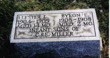 MILLER, LESTER L. - Montgomery County, Ohio   LESTER L. MILLER - Ohio Gravestone Photos