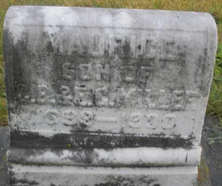 MILLER, MAURICE - Montgomery County, Ohio | MAURICE MILLER - Ohio Gravestone Photos