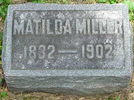 BRELSFORD MILLER, MATILDA - Montgomery County, Ohio   MATILDA BRELSFORD MILLER - Ohio Gravestone Photos