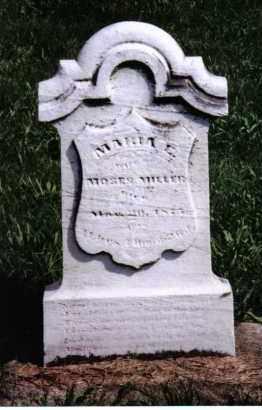 MILLER, MARIA E. - Montgomery County, Ohio | MARIA E. MILLER - Ohio Gravestone Photos