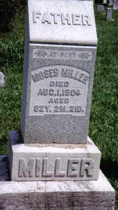 MILLER, MOSES - Montgomery County, Ohio   MOSES MILLER - Ohio Gravestone Photos