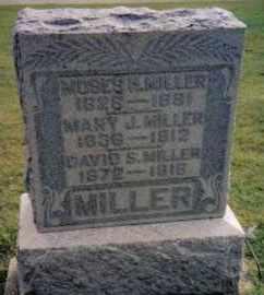 MILLER, MOSES H. - Montgomery County, Ohio | MOSES H. MILLER - Ohio Gravestone Photos