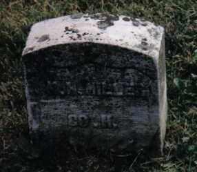 MILLER, M. H. - Montgomery County, Ohio | M. H. MILLER - Ohio Gravestone Photos