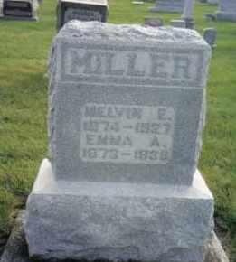 MILLER, EMMA A. - Montgomery County, Ohio | EMMA A. MILLER - Ohio Gravestone Photos