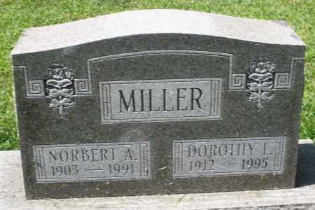 MILLER, NORBERT A. - Montgomery County, Ohio | NORBERT A. MILLER - Ohio Gravestone Photos