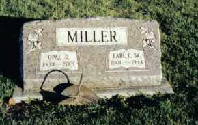 MILLER, OPAL D. - Montgomery County, Ohio | OPAL D. MILLER - Ohio Gravestone Photos