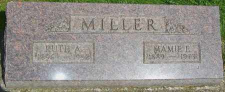 MILLER, RUTH ALMA - Montgomery County, Ohio | RUTH ALMA MILLER - Ohio Gravestone Photos