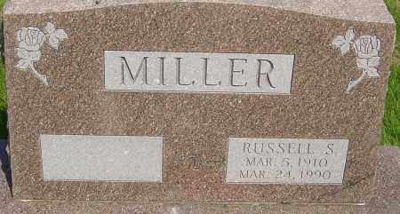 MILLER, RUSSELL  SHELDON - Montgomery County, Ohio | RUSSELL  SHELDON MILLER - Ohio Gravestone Photos