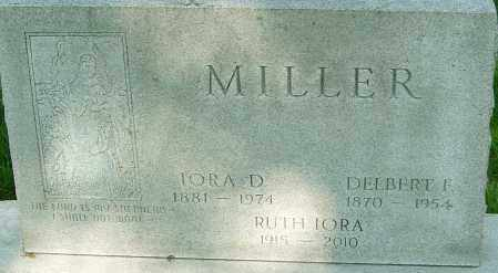 MILLER, IORA DELLE - Montgomery County, Ohio | IORA DELLE MILLER - Ohio Gravestone Photos