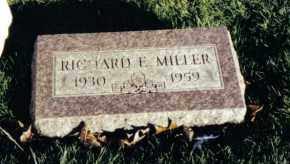 MILLER, RICHARD C. - Montgomery County, Ohio   RICHARD C. MILLER - Ohio Gravestone Photos