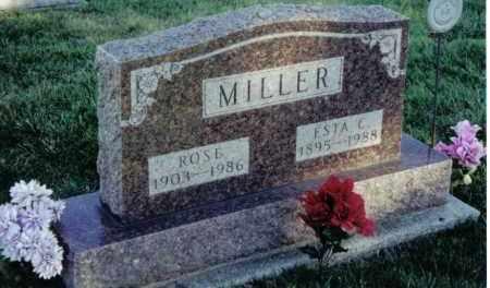 MILLER, ROSE - Montgomery County, Ohio   ROSE MILLER - Ohio Gravestone Photos