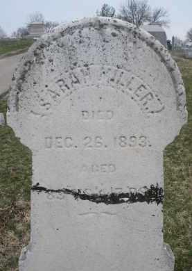 MILLER, SARAH - Montgomery County, Ohio   SARAH MILLER - Ohio Gravestone Photos
